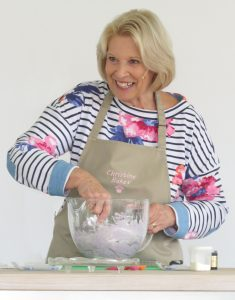 Guest chef from THE GREAT BRITISH BAKE OFF - Christine Wallace